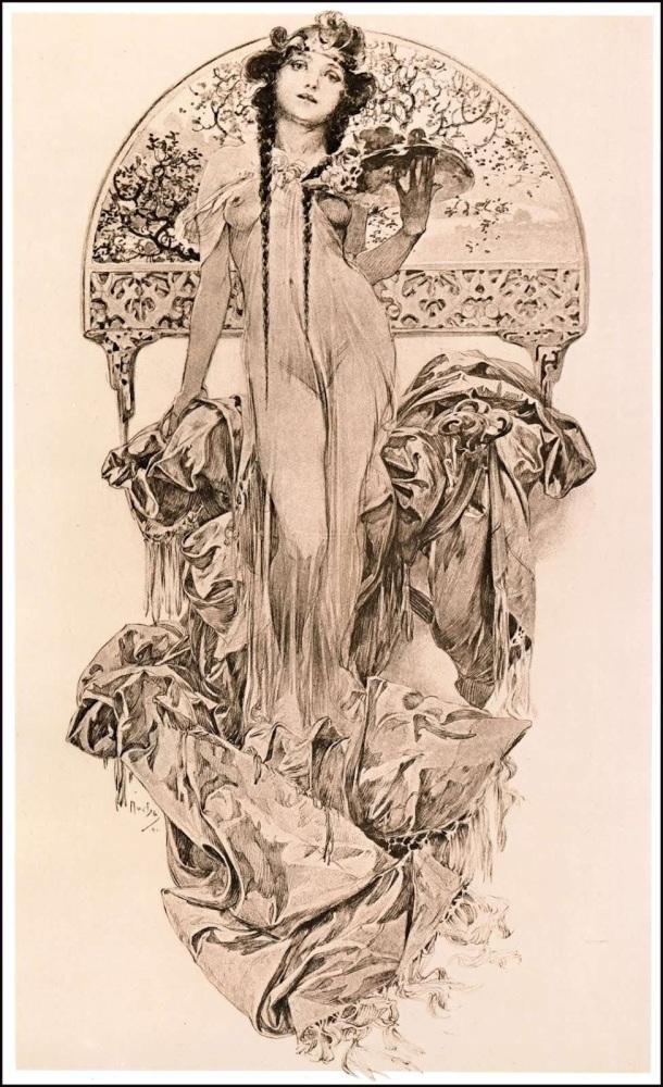 Meet the Classic Artist: Alphonse Mucha (1/6)